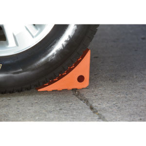 PU Wheel Chocks for Trailer and Cars