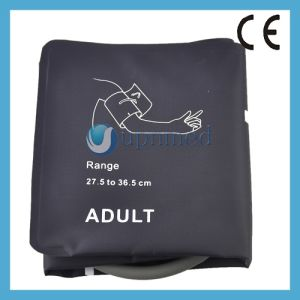 Adult NIBP Cuff Without Bladder, Single Tube, 27.5-36.5cm pictures & photos