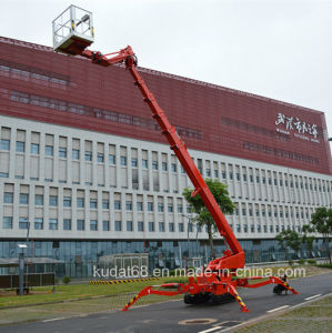 Spider Aerial Work Platform, Boom Lift, Cherry Picker Kd-T53 pictures & photos