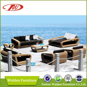 Luxury Rattan Furniture Sofa Set (DH-9666) pictures & photos