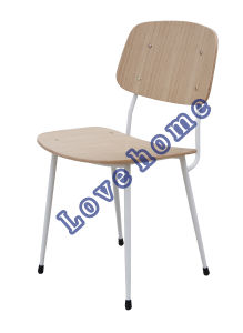 Modern Classic Dining Metal Oak Copine Sean Dix Plywood Chair pictures & photos
