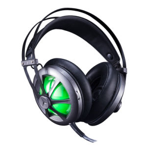 Professional LED Gaming Headset with 50mm Speaker (K-260)