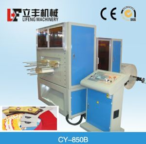 Punching Machine Cy-850/Ice Cream Sleeve Die Cutting Machine pictures & photos