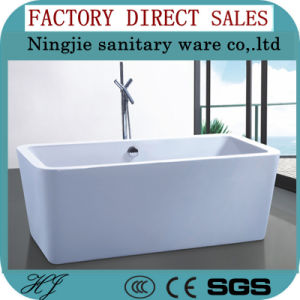 Rectangle Shape Freestanding Modern Bathtub 607A pictures & photos