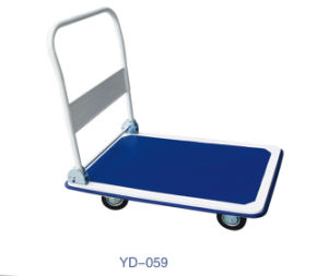 Flat Trolley/Flat Bedding Truck/Flat Cart (YD-WF002) pictures & photos