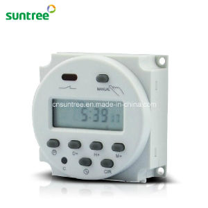 12V Weekly Programmable Electronic Timer Cn101A pictures & photos