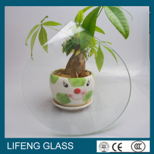 Edge Special Shaped Tempered Furniture Glass