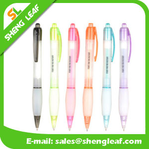 Promotional Gifts Plastic Colorful Ballpoint Pen (SLF-PP058)