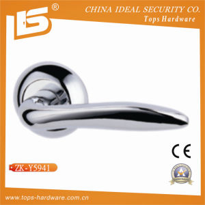 Zamak Door Handle and Lock Handle (ZK-Y5941) pictures & photos