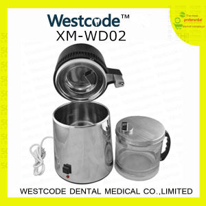 (XM-WD02) 4L, 1.5 L/H Boiling Chamber Capacity Dental Distilled Water Machine