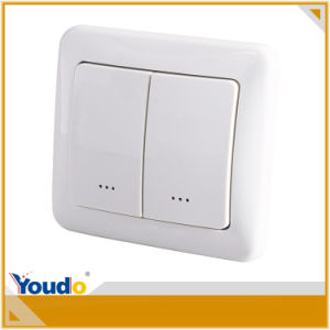 Z-Wave on/off European Standard RF Controlled Wall Module Switch