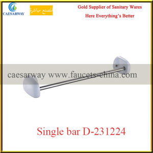 Sanitary Ware Bathroom Accessories White Single Bar pictures & photos