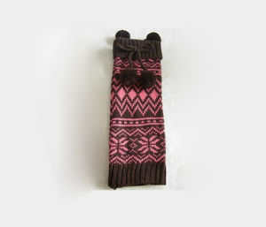 Fashion Jacquard Knitted Leg Warmers pictures & photos