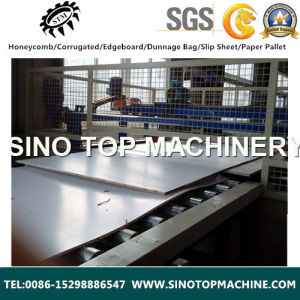 Paper Laminated Cardbaord Chipboard Machine for Partition pictures & photos