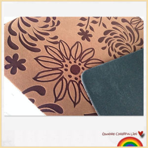 Promotional Microfiber Rubber Foam Backing Floor Mat