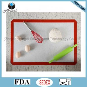 Heat Insulation Macaroon Silicone Mat for Baking Sm37