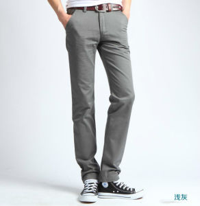 New Fashion High Quality Corduroy Men′s Pants pictures & photos