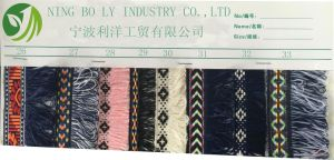 Polyester Jacquard Woven Tape 25-32 pictures & photos