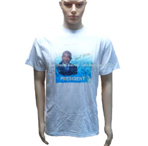 Vote Blank White T-Shirt for Promotional Use pictures & photos