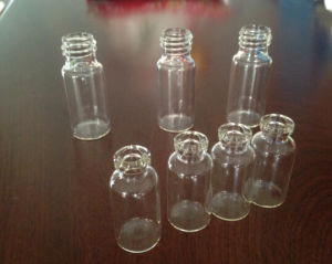 Clear Tubular High Quality Glass Vial