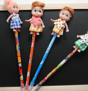 New Design Hot Sale So Cute Doll Pen pictures & photos