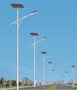 Solar Street Light with 30W LED Lamp Size of Tyndld008