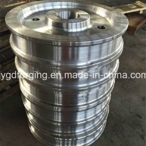 AISI4140 Scm440 Alloy Steel Ring/Hollow Forging pictures & photos