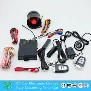 Push Button Switch Car Alarm System Xy-906