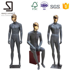 Male Full Body Mannequins with Metal Head, Standing Mannequins pictures & photos