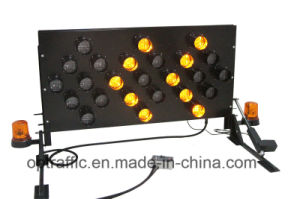 Vehicle Mounted LED Warning Light Road Safety Directional Arrow Board pictures & photos