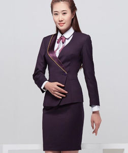 China Women S Two Piece Office Lady Blazer Business Mini Dress Suit