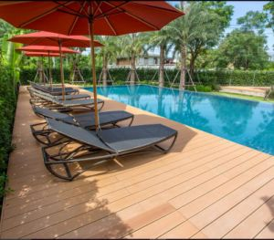 WPC Decking for Outdoor Swimming Pool Floor pictures & photos