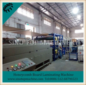 Paper Honeycomb Lamination Line pictures & photos