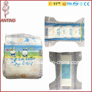 Super Soft Baby Diaper, ISO&CE Certificates Baby Diaper, PE/PP Material Diaper pictures & photos