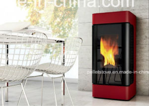 New Indoor Using High Quality Overheatng Protect Wood Pellet Stove pictures & photos