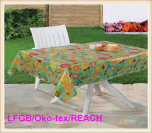 Plastic PVC Printed Tablecloth pictures & photos