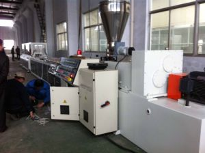 240 Model PVC Door Profile Extrusion Line pictures & photos