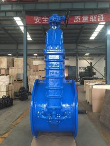 Big Size Resilient Seated Gate Valve with Gear Box (DN800-DN1200)