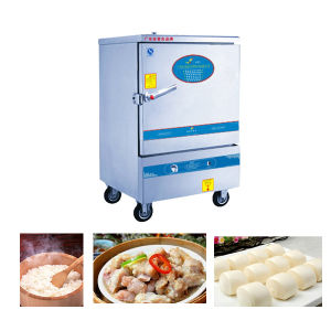 8 Trays Heavey Duty Gas Rice Steamer Cooker