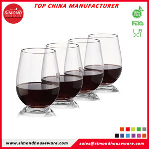 f7308d267a25 China Hot Sale Unbreakable Stemless Wine Glasses Indoor Outdoor Beer ...