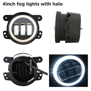 "4"" 30W Auto LED Fog Light with DRL for Jeep Wrangler Truck pictures & photos"