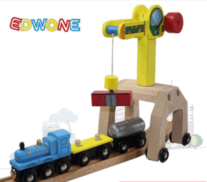 Wooden Magnetic Crane for Kids