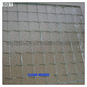 5mm-19mm Wired Patterned Glass/Wire Mesh Glass pictures & photos