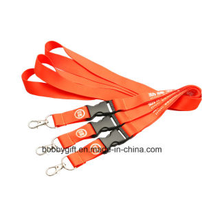 Customize Printed Polyester Lanyard and Neck Strap pictures & photos