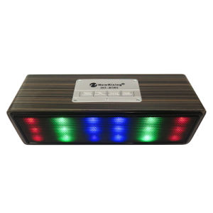 Hy-Bt95 Wooden Box Bluetooth Speaker with Colorful Light