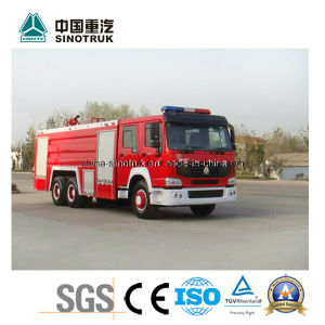Professional Supply HOWO Fire Truck Fire Fight Truck Fire Engine with Water Foam Type pictures & photos