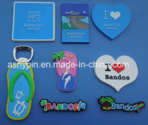 china customized fridge magnet 3d logo rubber pvc china custom