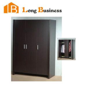 Dark Wood Upright Diy Portable Closet