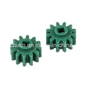 Injection Molding Parts Electronic Plastic Gear / Plastic Compound Gear with 12 Tooth pictures & photos
