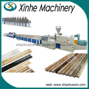 Large Capacity PVC Marbleization Profile Production Making Machine Line